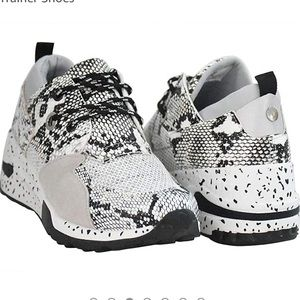 Shoes - Lucky steps wedge sneakers